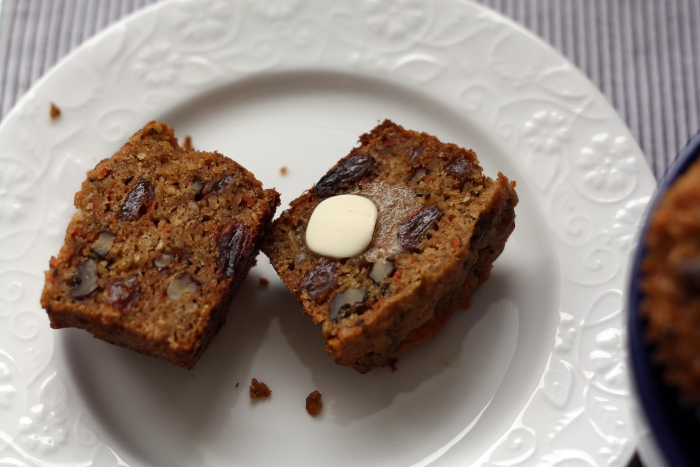 Morning Glory Muffins (gf,df)