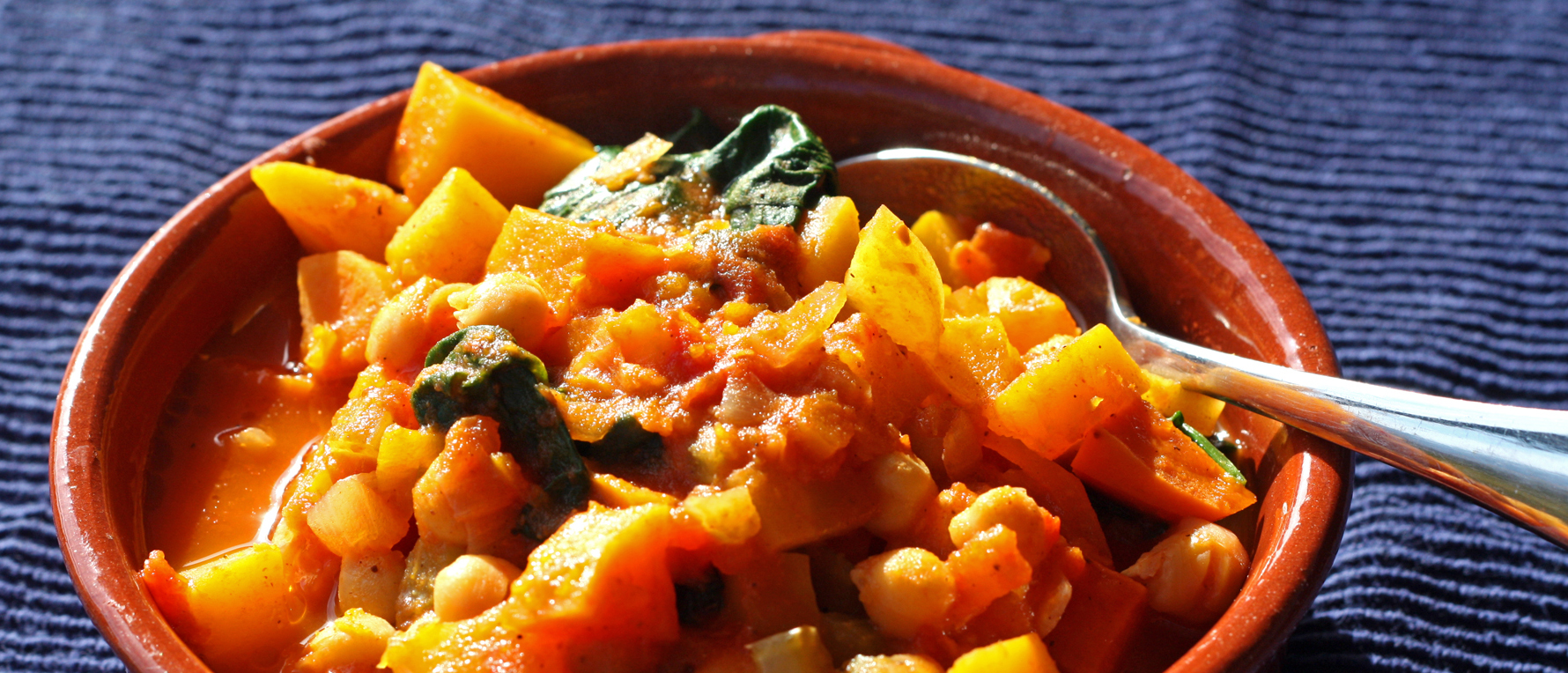 Moroccan Spice Chickpea & Squash Stew | Growing Inspired