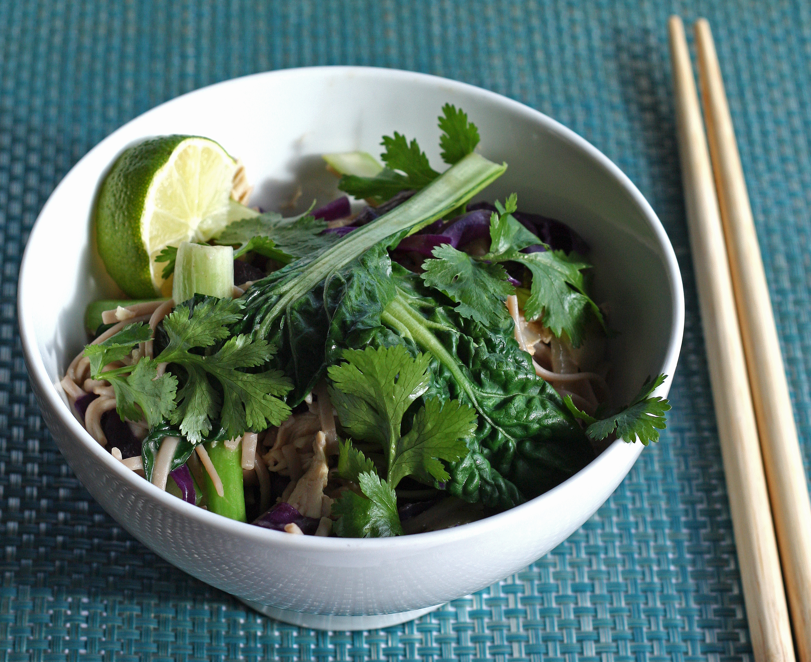 Saucy Soba Noodle Bowl with Homemade Hoisin